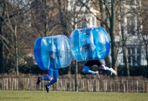 Bath PR firm Highlight scores top coverage after winning 'bubble football' account