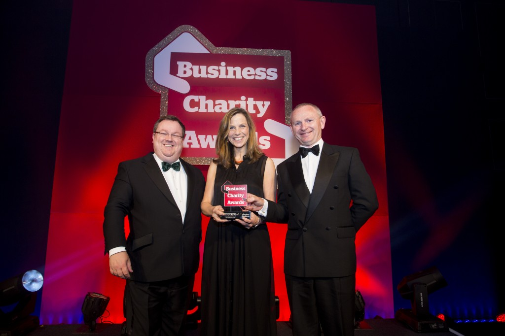 Business Charity Award for Andrews' pioneering social housing project