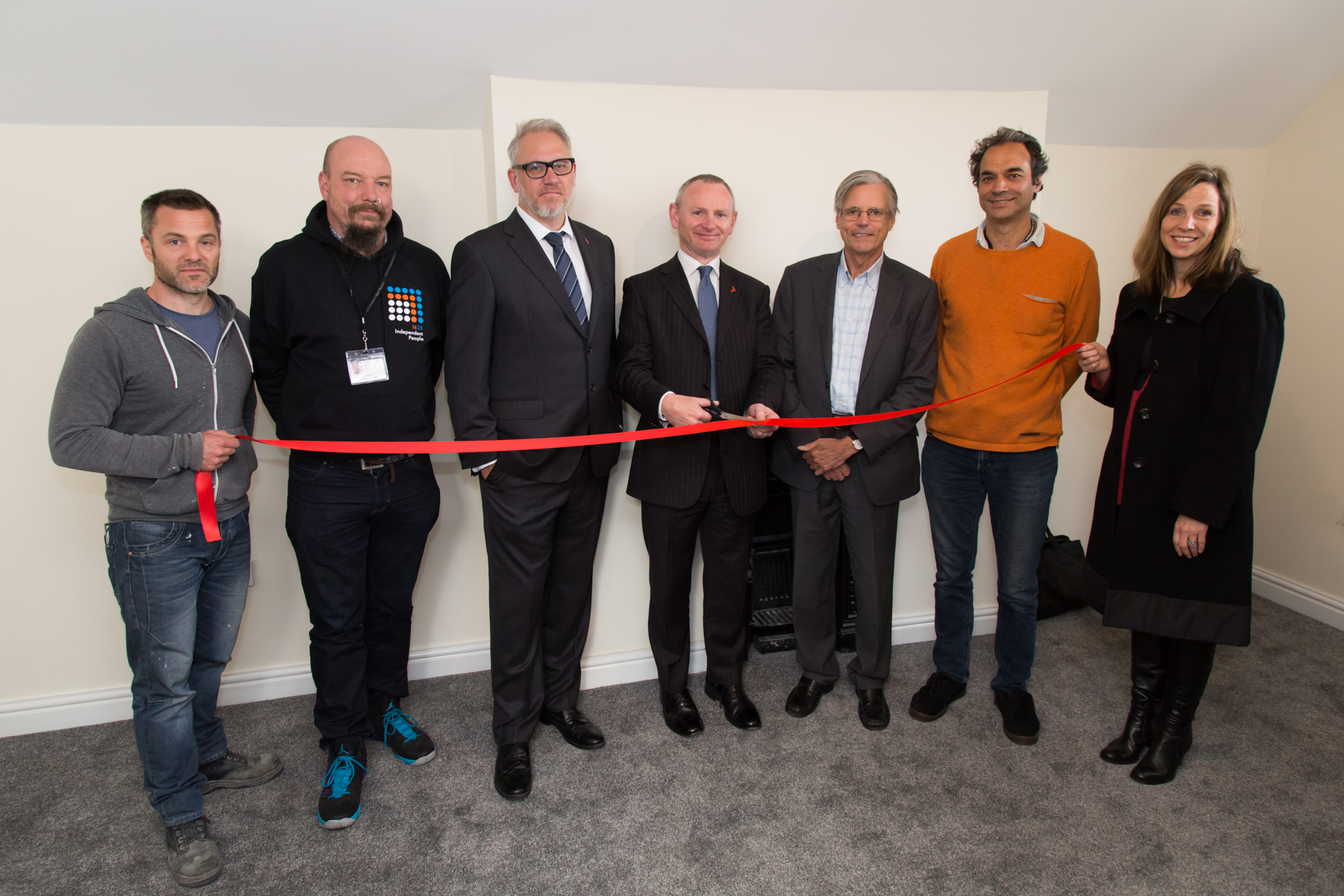 First home in Andrews' pioneering social housing project gets ready for tenants
