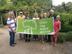 Bath parks fly the flag as some of world's best green spaces