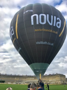 Bath's promotional balloon project gets off the ground at VIP launch