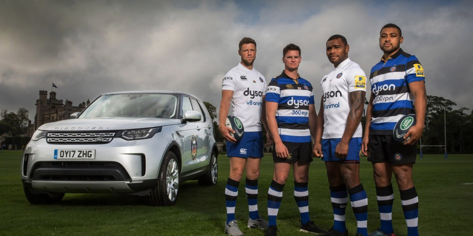 Bath Rugby drives into three-way partnership with Land Rover and Dick Lovett