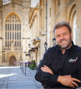 Bath Business Blog: TV property expert and Celebrity Jungle campmate Martin Roberts. The new meaning of care in the workplace
