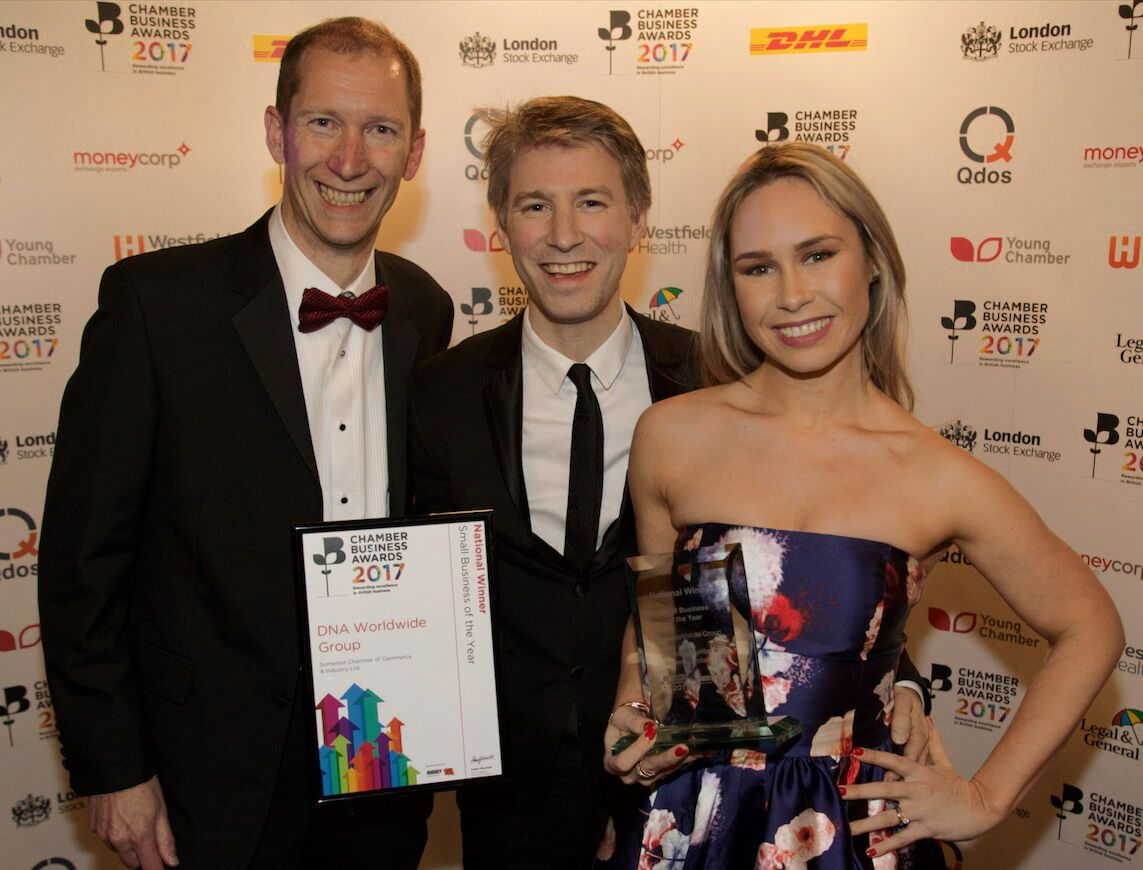 Coveted Small Business of the Year award for pioneering DNA analysis firm