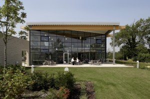 Herman Miller puts its unique eco-friendly HQ building on the market