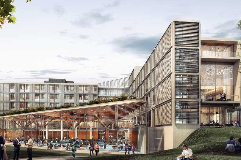 £70m state-of-the-art School of Management building planned by University of Bath