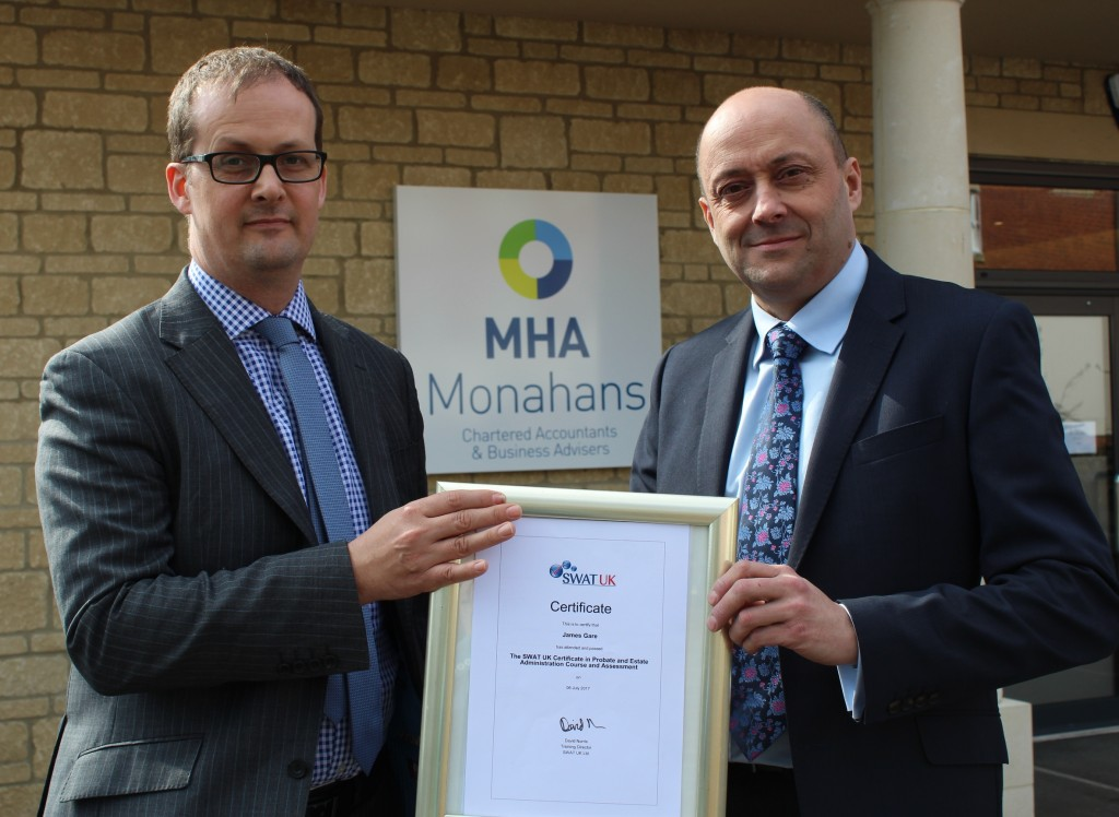 Specialist probate service launched by accountants MHA Monahans