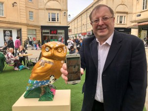 Bath tech firm's app will help city's Minerva's Owls sculpture trail soar to new heights