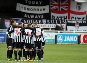 The beautiful game meets culture as The Bath Festivals team up with Bath City FC