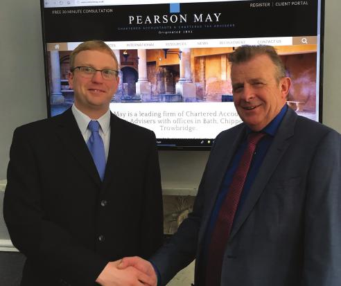 Pearson May continues tradition of growing and developing its own staff with latest partner promotion