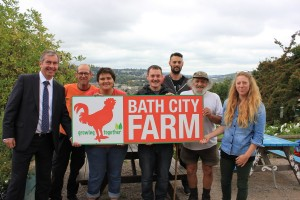 Bath City Farm to benefit from HPH's generosity as its charity of the year
