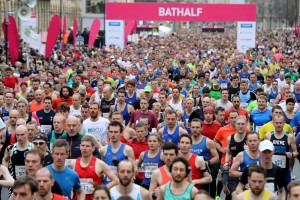 Bishop Fleming limbers up for centenary celebrations next year with Bath Half sponsorship