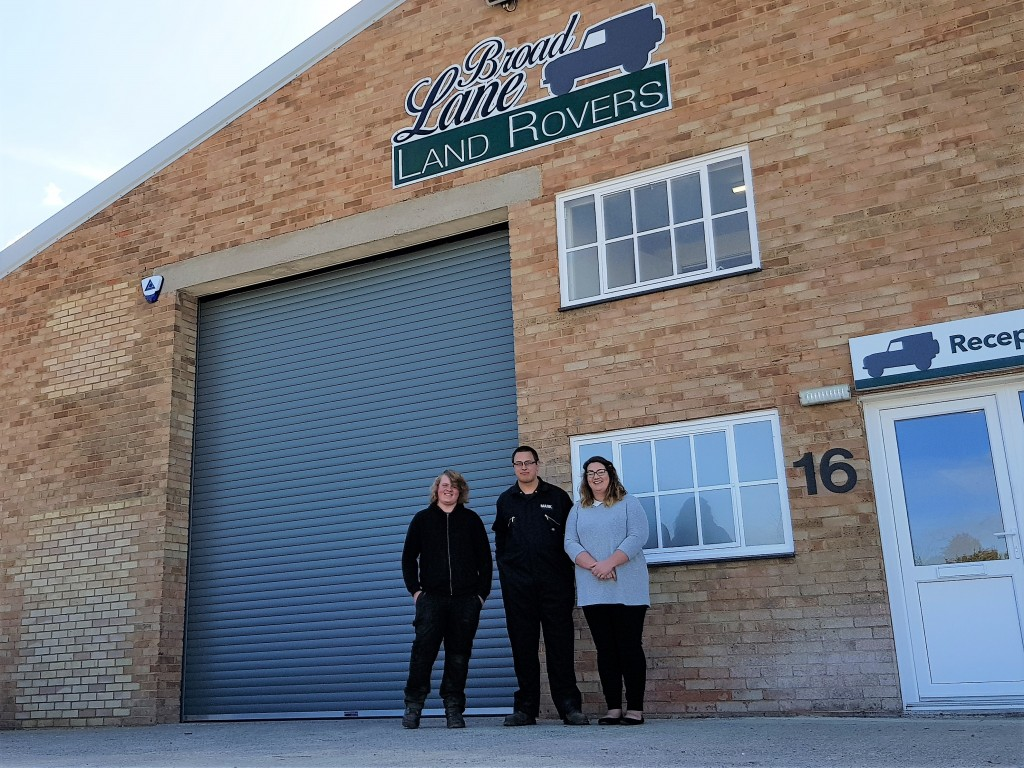 Arrival of Land Rover specialist drives occupancy rates to 100% at industrial estate
