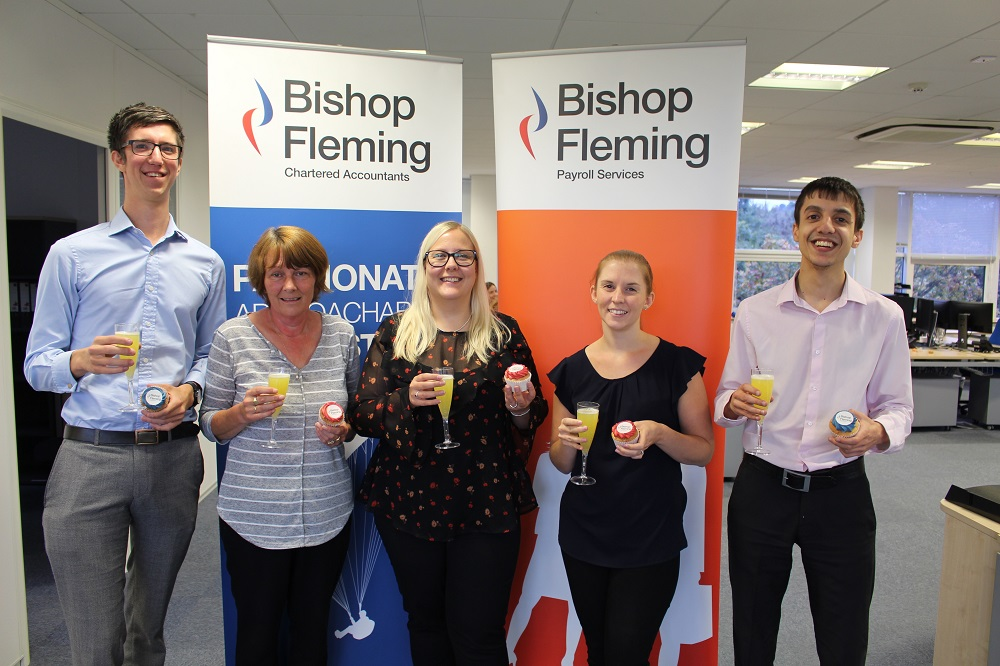 Top marks again for Bishop Fleming's 'extremely efficient' payroll department