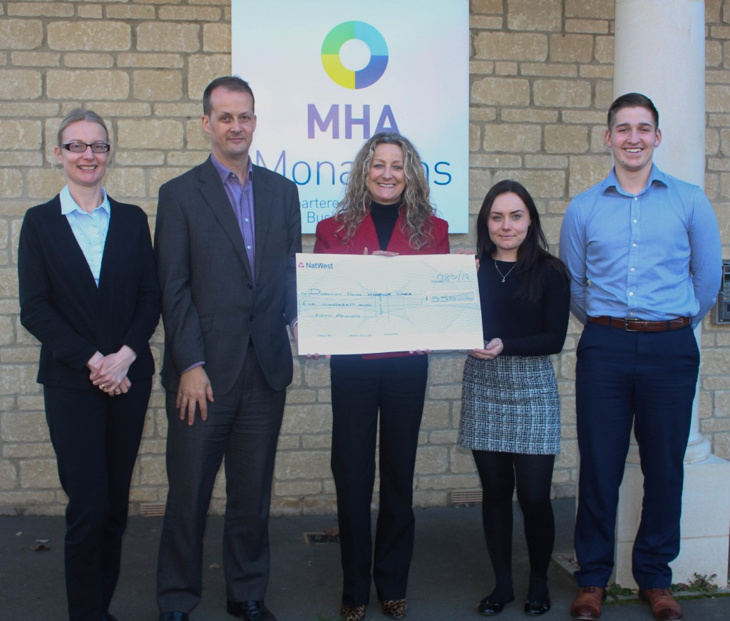 Eggheads from MHA Monahans' Bath office land first prize in firm's inaugural Trowbridge Charity Quiz