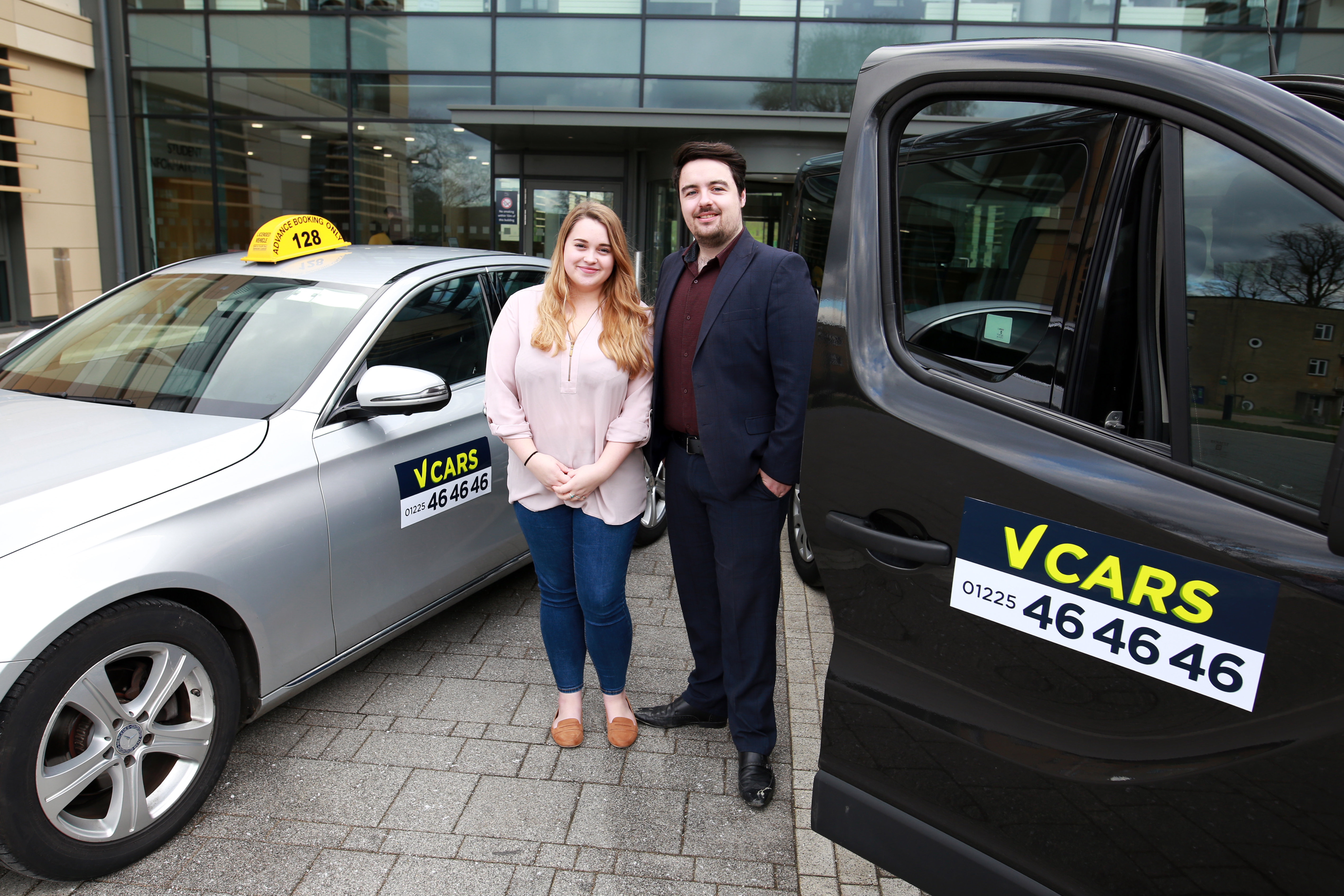 Bath Spa University Students' Union teams up with V Cars to launch safe taxi scheme