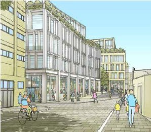 Quays North office scheme and Bath College training hub get £32m funding boost