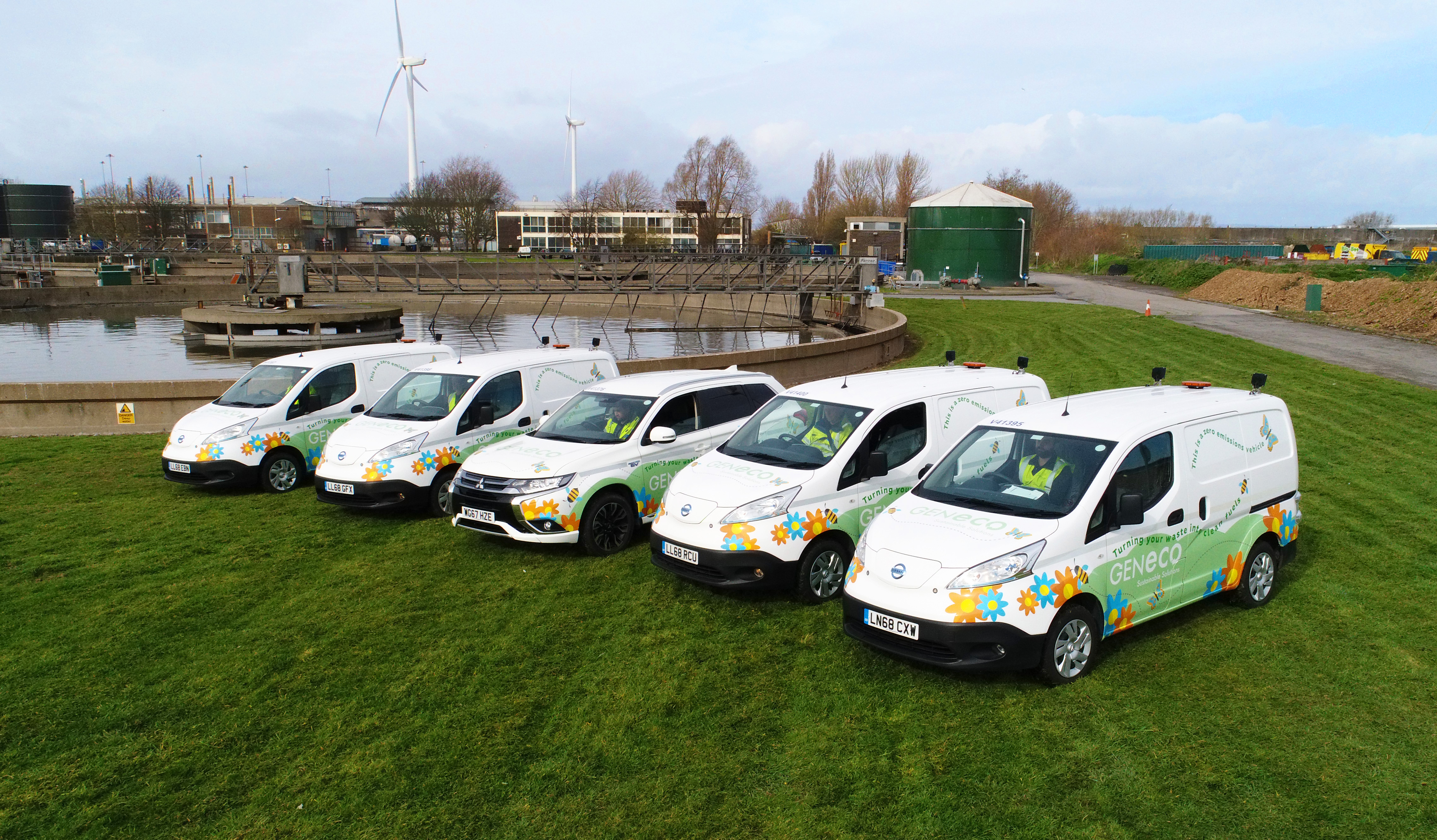 Firm that pioneered poo-powered bus goes electric with trial of clean, green vans