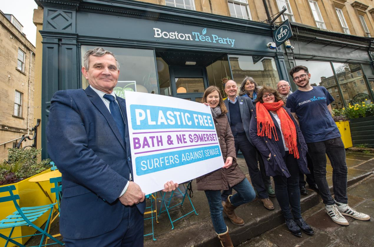 Pledge sought from Bath businesses as council launches vision to be plastic free by 2020