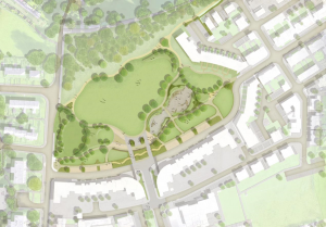 Plans for Bath's first park in a century to go on display at Curo's flagship housing scheme