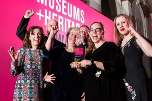 'We're over the moon': Big award win for Herschel Museum of Astronomy's small exhibition