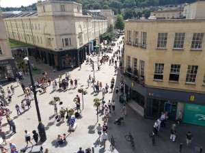 'Big data' project tracking visitor spending puts Bath BID at forefront of smart city revolution