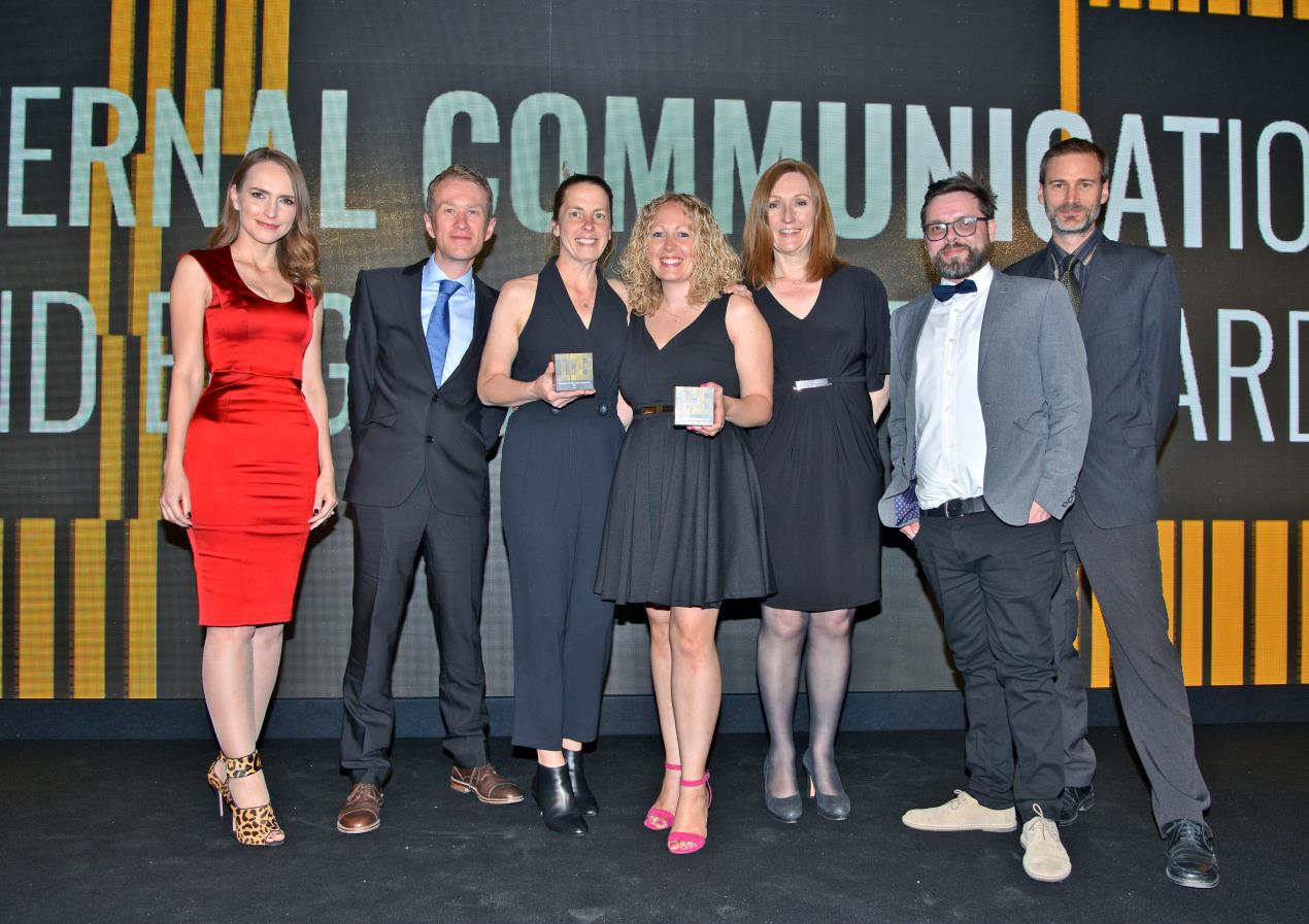 Housing association Curo brings home two internal comms awards