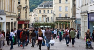 Bath will escape worst of UK's retail revolution, says major report, but shops will still close