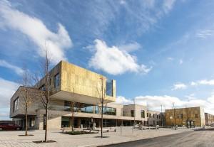 Top building award for 'exemplary community hub' on new Bath housing estate