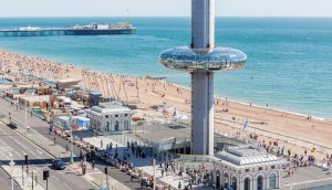 Sea change for Brighton's iconic tower as it signs up for Good Energy's 100% green power
