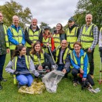 Litter pick group shot