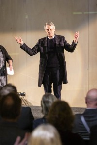 Jeremy Irons joins Bath Spa students and staff in officially opening new campus