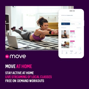 £1m boost for crisis-hit independent fitness providers from MoveGB's streaming service