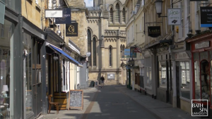 Empty promise of Bath's locked down streets inspires emotive video from Bath Spa University