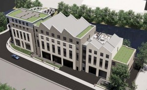 Student flats plan for former warehouse would also give new home to charity occupier
