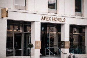 Social distancing measures in place at Apex Hotel as it prepares to throw doors open again