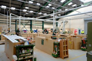 Business interruption loan helps historic joinery bounce back with big increase in workload