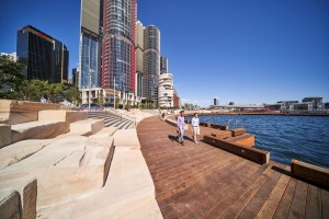 Pioneering Bath architects help rejuvenate Sydney Harbour site into vibrant new neighbourhood