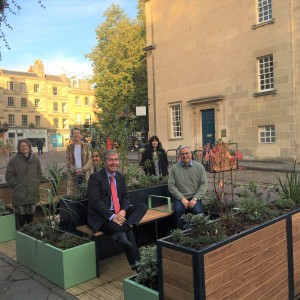 Businesses welcome latest move to create café culture in Kingsmead Square