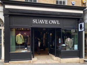 Menswear retailer has designs on growth after moving to prime site in Bath