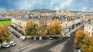 Pair of offices with literary connection in Bath's iconic Laura Place to go up for auction