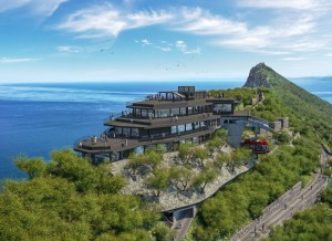 Environmental agency's rock solid expertise secures Gibraltar cable car station upgrade
