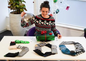 Royds Withy King's Christmas food and socks appeal brings in £5,000 for homeless charities