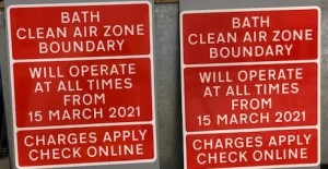 Take action now to prepare for Bath's city centre Clean Air Zone, firms are urged