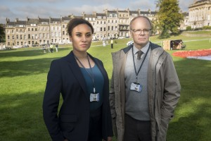 Bath's the star again as TV detectives McDonald & Dodds return to the small screen