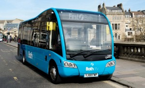 First invests in new buses and retrofits others to ensure they comply with Bath's Clean Air Zone
