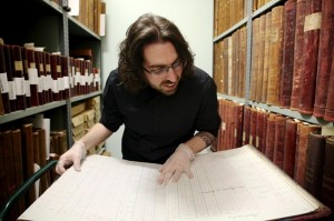 Bath Record Office collects national archive accreditation in recognition of its service