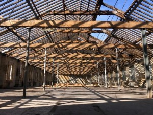 Blue sky thinking opens up new vision for creative workspace at Bath's Newark Works