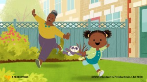 Ground-breaking pre-school programme lands top TV industry award for Bristol animation studio