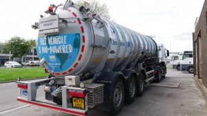 Success of Bristol's poo-powered bus to be followed by pair of fertiliser-fuelled trucks
